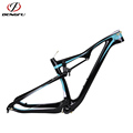 "2017 New 142*12mm Alex Bicycle Frame China mtb carbon frame 29er Colorful Paint 29"" M06"