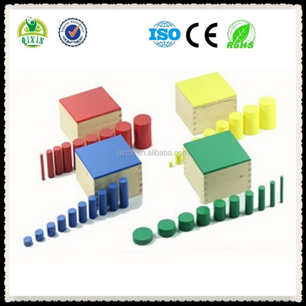Qualified and Durable montessori math toys/educational montessori equipment/fabric educational toys/QX-177C/1SET=137 Pieces