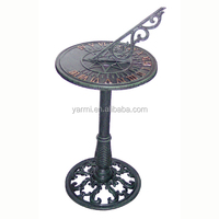 METAL SUNDIAL WITH STAND