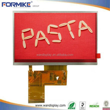 iso china vendor on 5 inch color industrial touch screen lcd display module & capacitive or resistive
