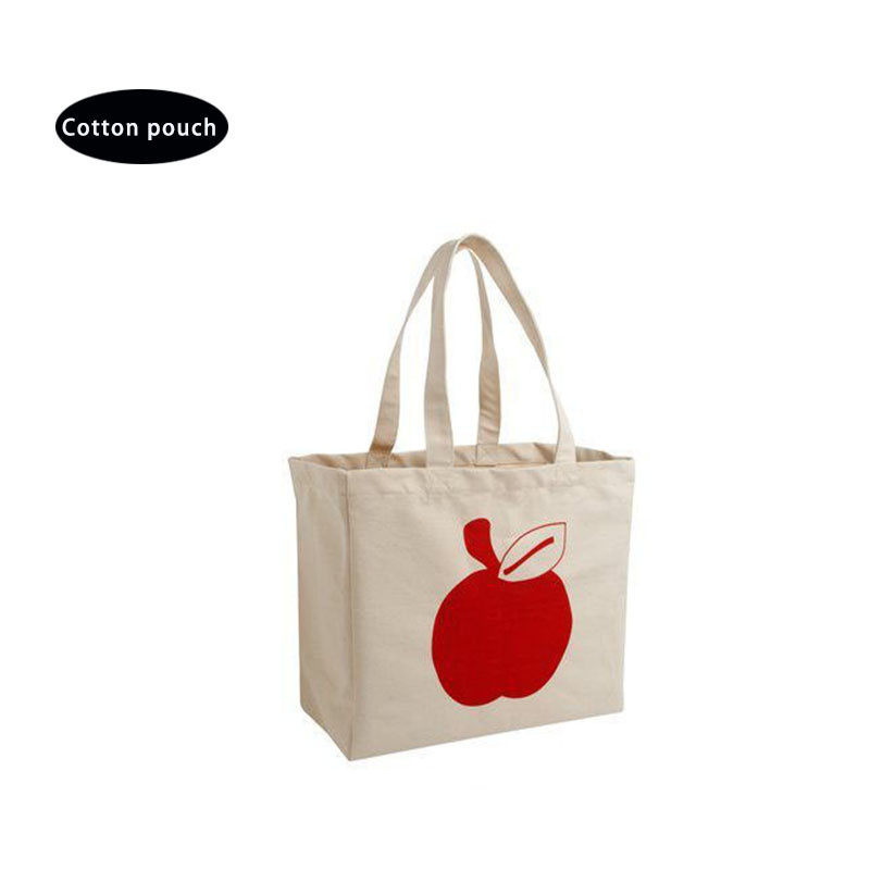 handle cotton/canvas fabric bag cloth gift bag