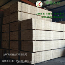 Pine LVL scaffolding boards for MIddle East timber