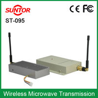 1KM portable wireless audio transmitter and receivers