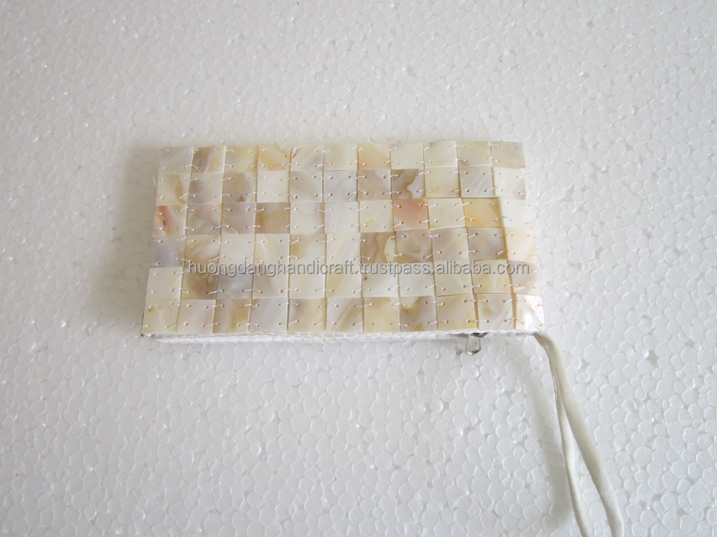 Lady Wallet Handmade- Fashion Seashell Wallet