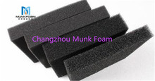 Factory Supplier wastewater treatment polyurethane open cell foam filter