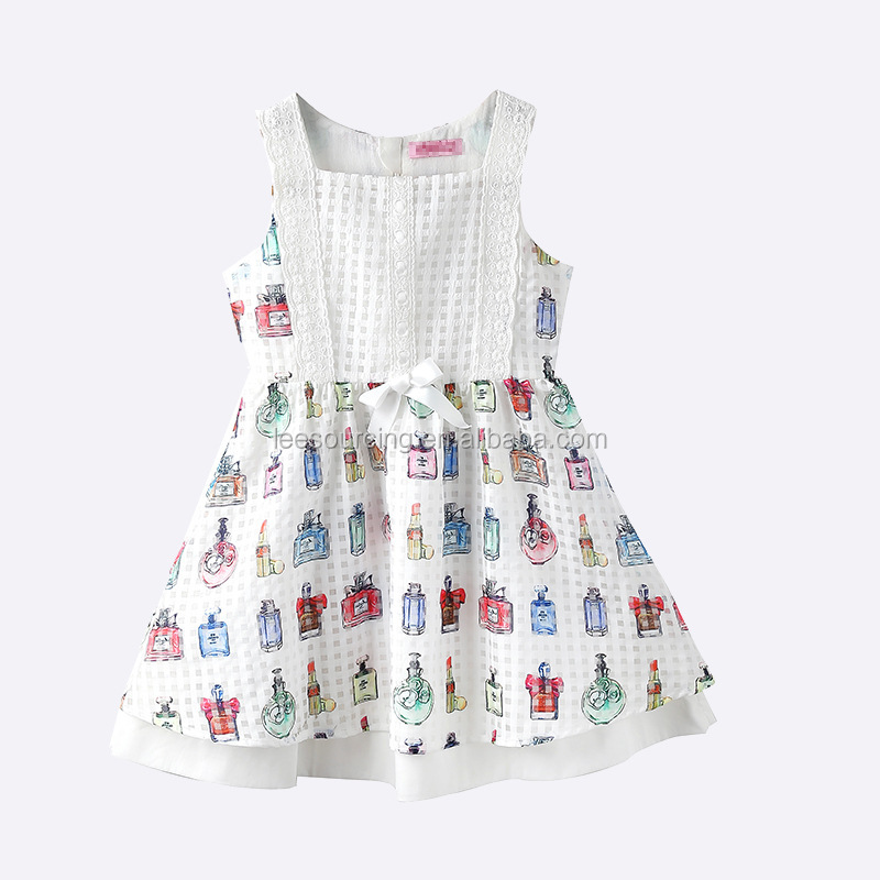 New Designs Check Smoking Baby Girl Party Dress Children Frocks Designs