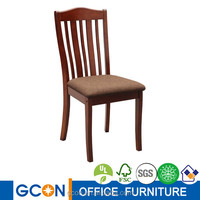 Used wooden beautiful armless dining chair