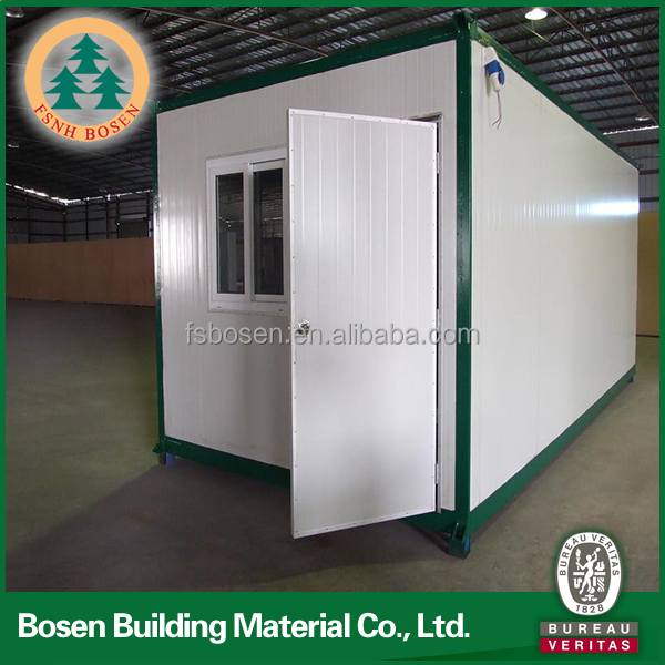 flexible design low cost folding prefab office containers