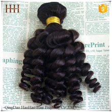Top quality unprocessed different types of honey blonde curly weave hair