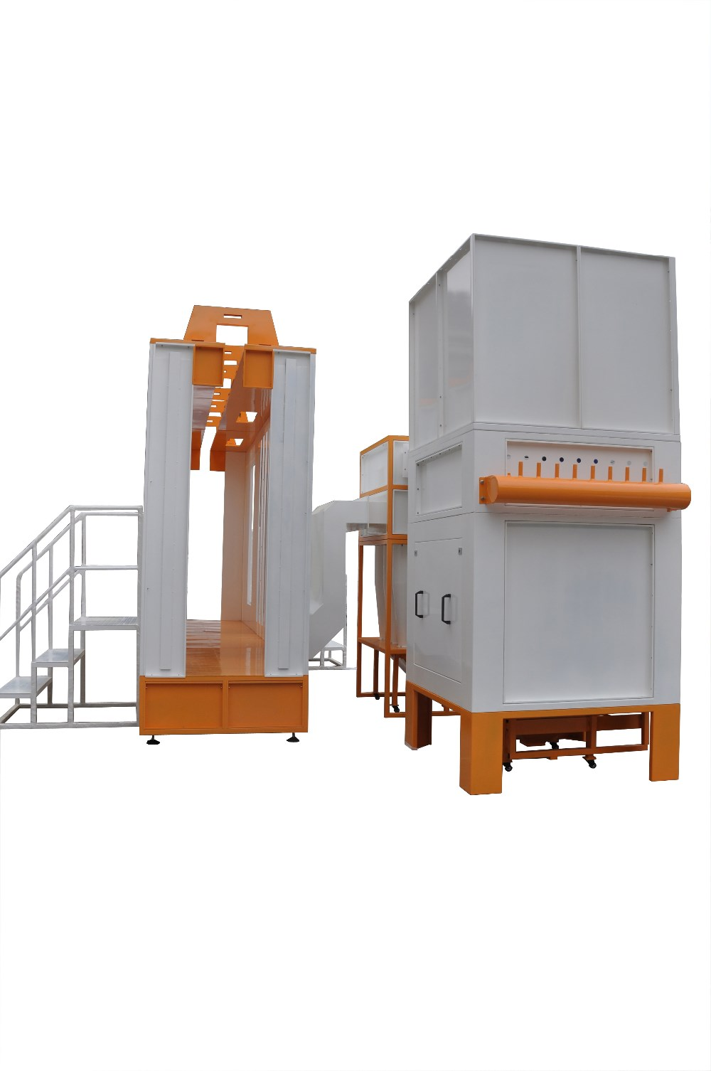 Electrostatic Powder Coating Spray Booth with Multi Cyclone