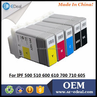 Ink cartridges wholesale 130ml PFI-102 cartridge for Canon IPF510 IPF610 IPF710 compatible ink cartridge