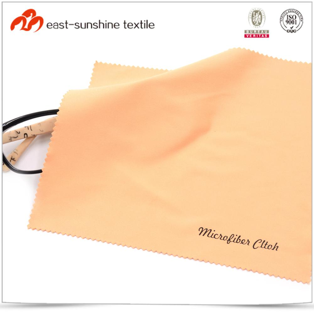 New product handle delicate soft custom print microfiber glasses cleaning cloth