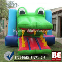 Cool frog houses bouncy castle Sale Inflatables