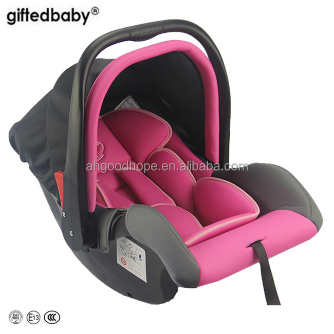 ECER Certificate Baby leather car seats for satety car chair