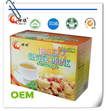 Hot Sale 6g x 12 sachets/box instant Lemon Ginger Drink