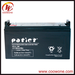 Solar Energy Storage AGM deep cycle battery 12v 120ah