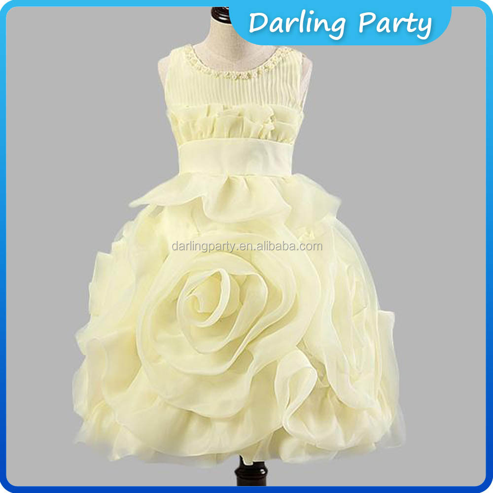 Wedding Fancy Children dress for 10 years old