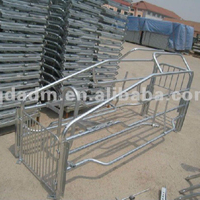 galvanized pig farrowing crate for sow