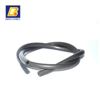 2.5mm Rubber Elastic Rope cord conductive rubber material strip VITON extruded rubber cord