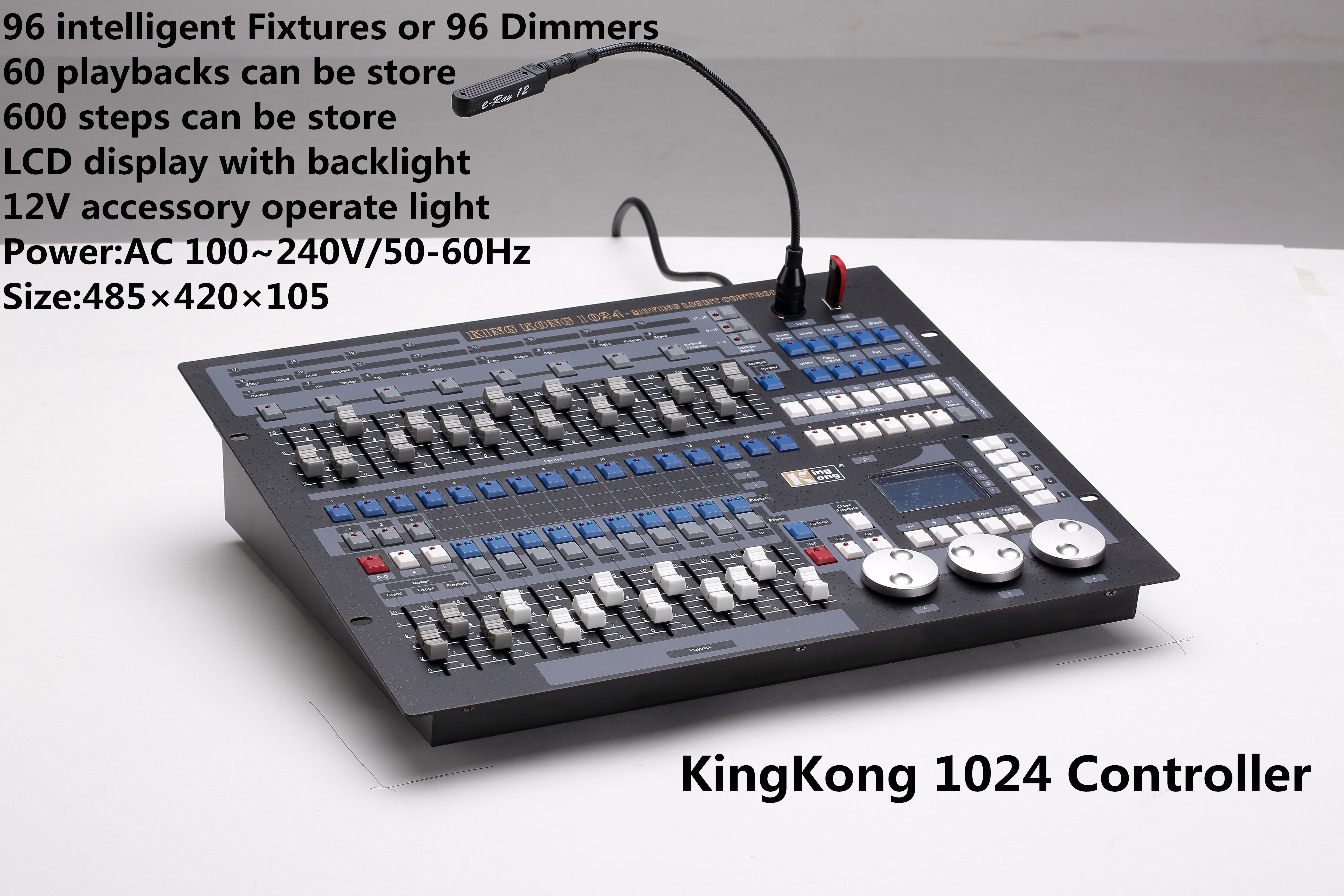 Kingkong 1024 DMX Controller haze machine