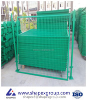 Double Loop Wire Roll Top Fence/Hot Sale PVC Coated Beautiful Ornamental Double Loop Fence