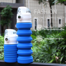 cheap collapsible bottle sales foldable silicone water bottle promotional