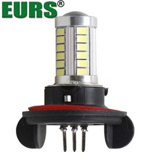 Factory outlet car LED high power fog lamp H15 5630 33smd 12V 10W 5000K 360LM front fog light bulb