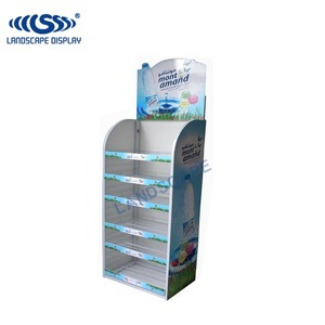 Custom made supermarket display stand/market stall display stands/pos store display