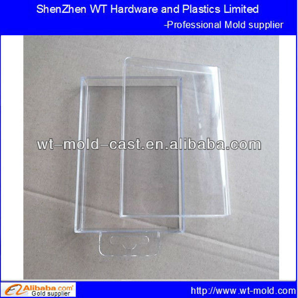 mobile phone package box shell clear plastic mold