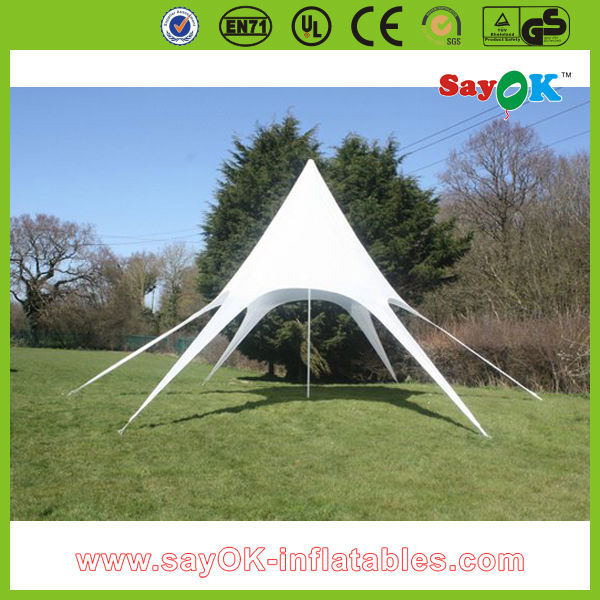 6m Outdoor Star Tent Cheap Portable Star Shaped Shade Tent