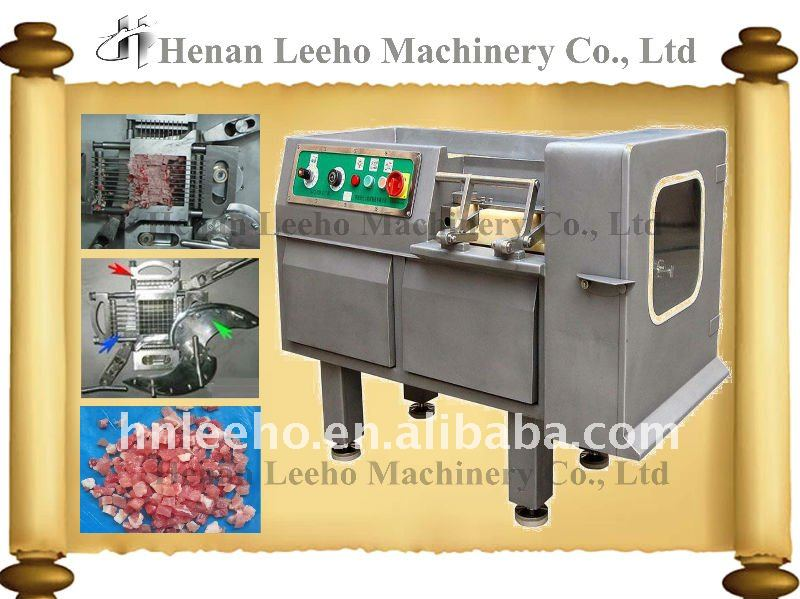 New type frozen meat dicing machine
