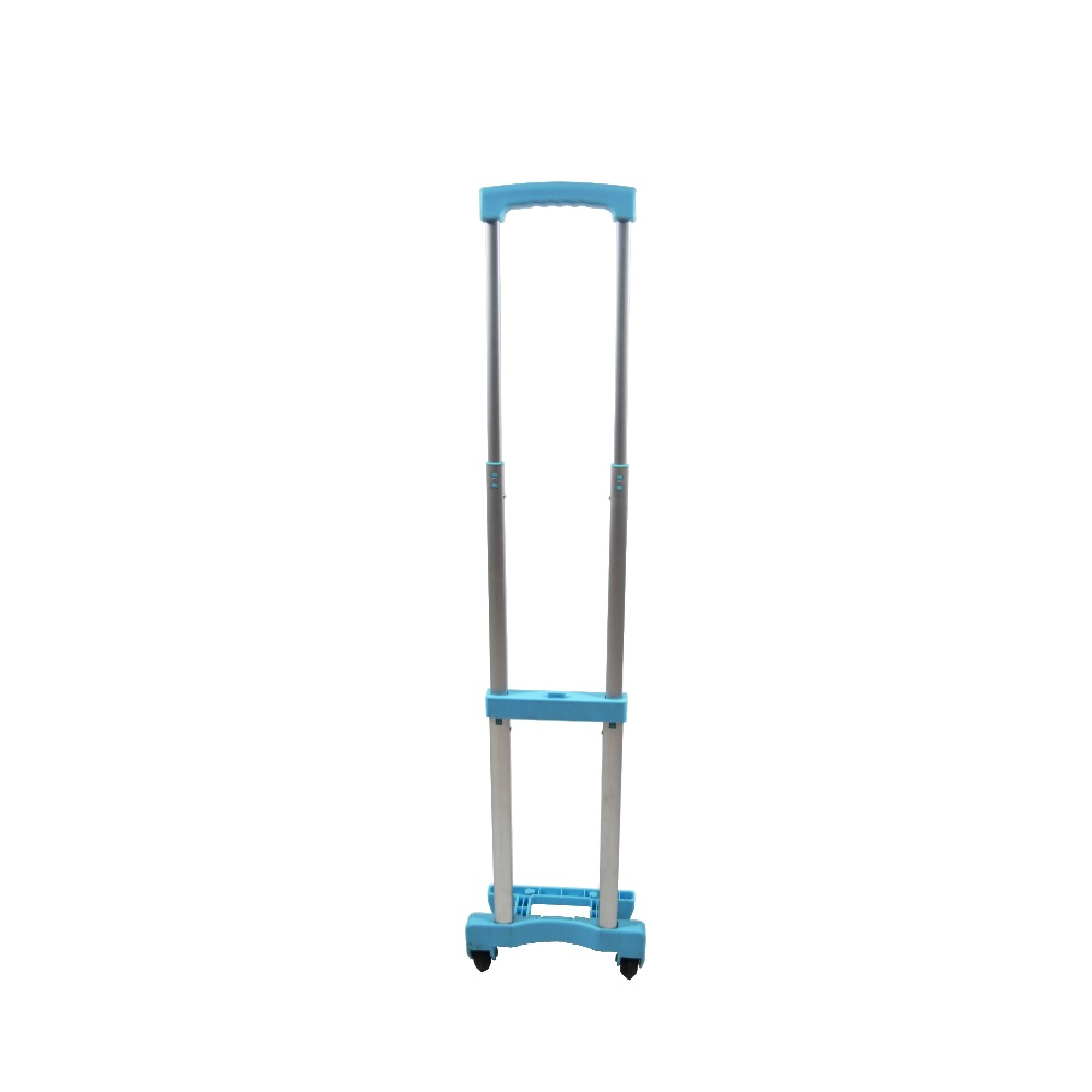 Durable luggage Extendable aluminium trolly handle with wheels