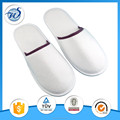White cotton fabric hotel spa slippers with low competitive price