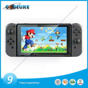 New model tempered glass screen protector for Nintendo Switch with high quality cheap factory price