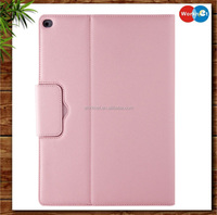 "2016 latest 2 in 1pu leather keyboard case 12.9"" for iPad Pro folio leather bluetooth keyboard case for iPad Pro 12.9-pink"