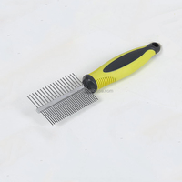 Two Sides Dog 2017 Pet Hair Comb Slicker Brush For Dogs Pet Brush Cleaning