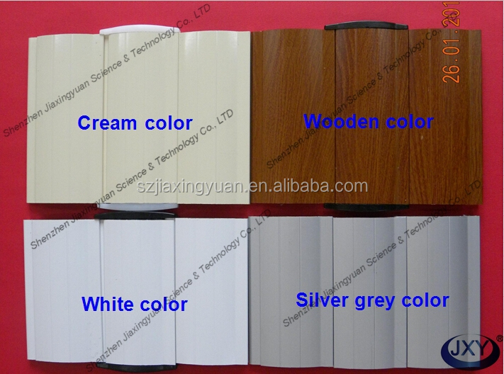 Fashional Aluminum Security Roll Down Door Exporter