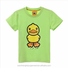 boy kids funny cartoon printed organic cotton T shirt