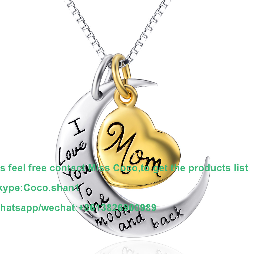 China manufacturer mom silver necklace for womens many design welcome to ask Jewelry pendant list