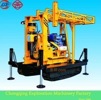 2014 newly wholesale price GX-1TDL crawler rotary hydraulic core bored pile drilling rig