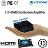 3D 4K@60hz HDMI Splitter 1x2 with 1 Input 2 Output Audio Video Splitter Box