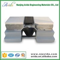 Aluminum alloy material expansion joints
