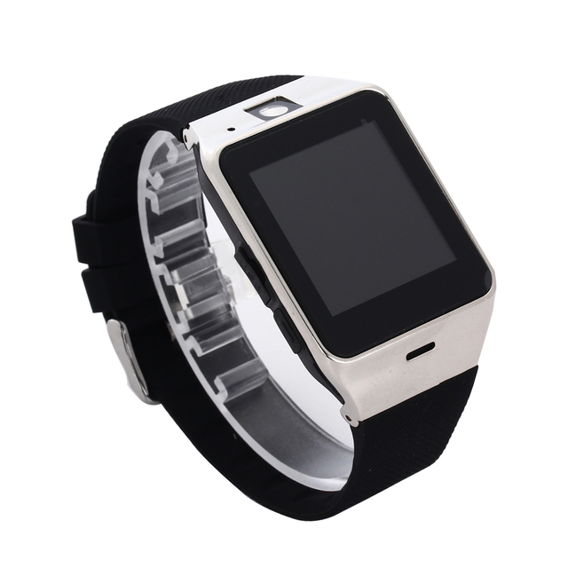 GV18  Smartwatch Bluetooth Smart Watch For Android IOS Phone Support SIM TF Card SMS GPRS NFC 1.3M Camera MP3  T30