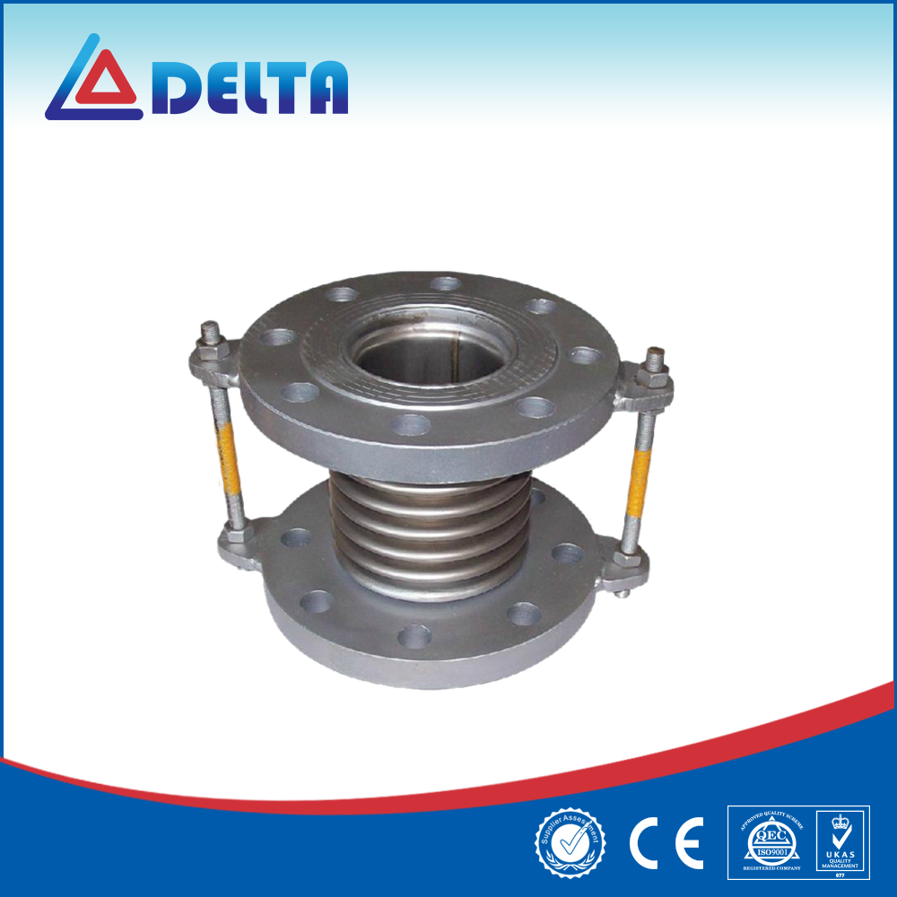 PTFE Lined Flexible Compensator / Bellows Expansion Joint