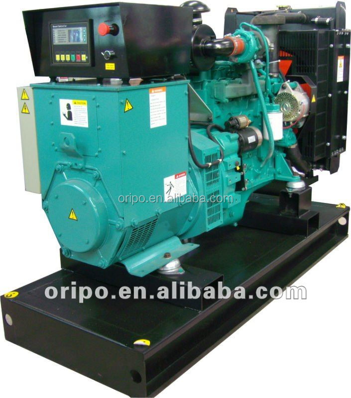 50KW 63KVA 4BTA3.9-G2 Engine New Power Generation Open Diesel Genset