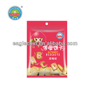 60g Strawberry Biscuits Baby Biscuits Healthy Food Jessica Alphabet Biscuits High Calcium