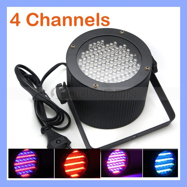 Sound Control DJ Light 86 RGB LED DMX Stage Light Laser Projector Party Show Disco Lighting