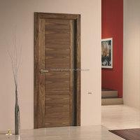 walnut entry doors American walnut veneered door