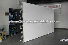 Hot sale projection screen, portable projection frame. trolly bag with wheels to carry