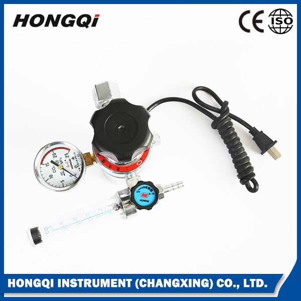 High quality co2 electric heated pressure regulator